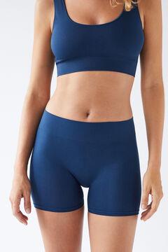 Womensecret Blue seam-free shorts blue