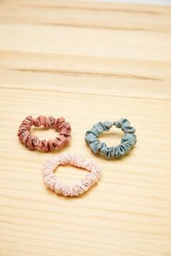 Womensecret Pack of 3 scrunchies white