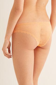 Womensecret Mesh Brazilian panty red
