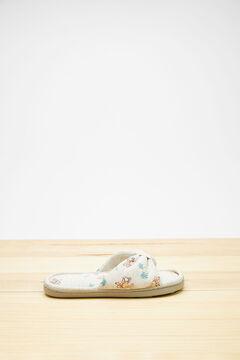 Womensecret Garfield knot slippers green
