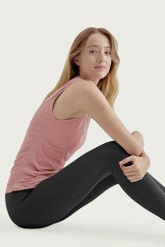 Womensecret Camiseta Ustra Tank Top Stone Blue rosa
