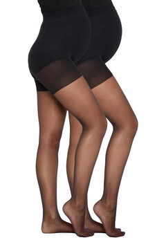 Womensecret Pack of 2 Maternity panties black