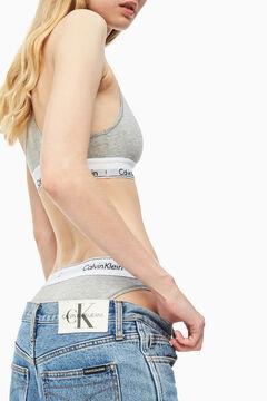 Womensecret Modern Cotton elasticated waist panties grey