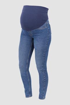 Womensecret Skinny Jean maternity azul