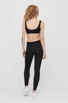 Womensecret Seamless sports bra black