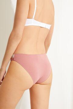 Womensecret 3-pack classic cotton full panties white