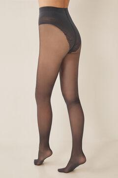 Womensecret Panty sujeción 40 DEN gris