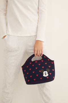 Womensecret Navy Mickey lunch bag blue