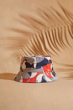Womensecret Reversible nautical print bucket hat printed