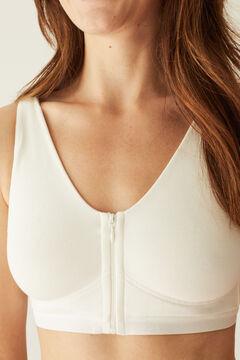 Womensecret FANTASTIC Post-Surgery bra with zip beige