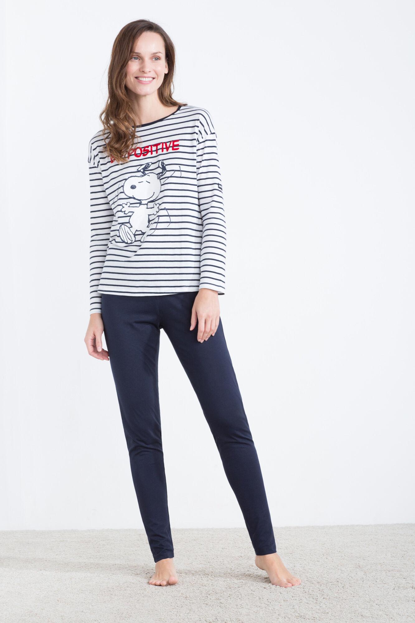 qualité stable comment acheter détaillant en ligne Pijama de algodón de Snoopy