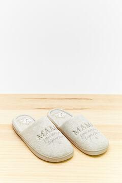 Womensecret Disney maternity slippers grey