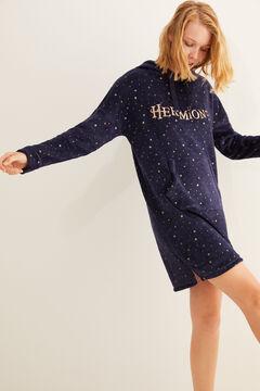 Womensecret Hermione fleece nightgown blue