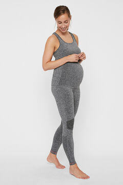 Womensecret Recycled nylon active maternity leggings grey
