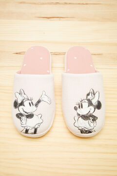 Womensecret Pink Minnie slippers pink