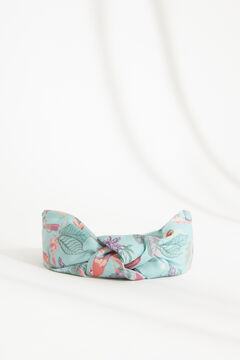 Womensecret Floral knot-front headband white