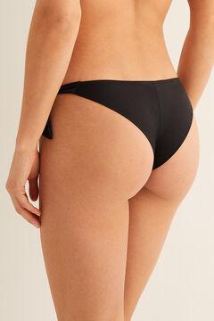Womensecret Brazilian bikini bottoms black