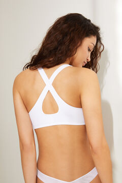 Womensecret Sports bra white