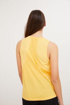 Womensecret Sleeveless sports T-shirt printed