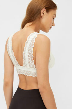 Womensecret Lace maternity bra white