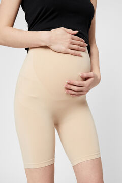Womensecret Short maternity seamless nylon reciclado blanco