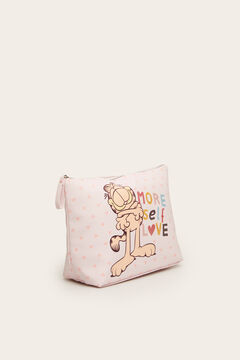 Womensecret Medium Garfield vanity case pink
