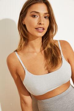 Womensecret Grey bra top grey