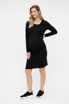 Womensecret Short maternity dress black