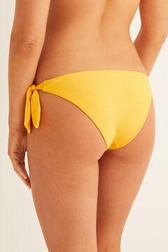 Womensecret Tie bikini bottoms printed