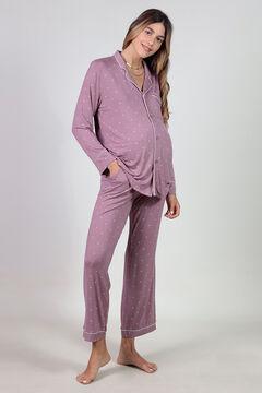 Womensecret Maternity pyjama set with hearts printed