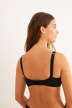 Womensecret Cotton and lace Post-Surgery bra black