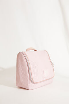Womensecret Large pink briefcase style vanity case pink
