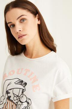 Womensecret Garfield capri pyjamas white