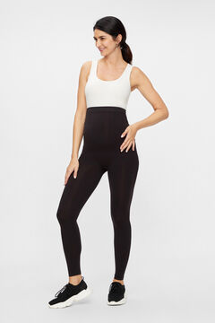 Womensecret Legging maternity nylon reciclado negro