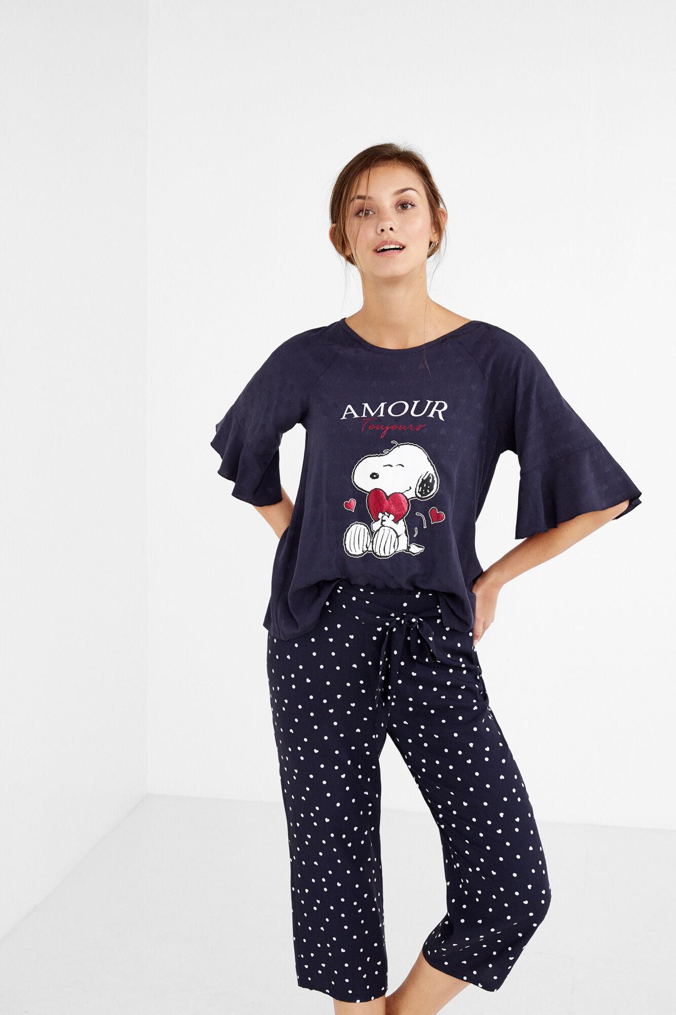 Baskets 2018 magasiner pour les plus récents chaussures d'automne Pijama capri Snoopy 'Amour'