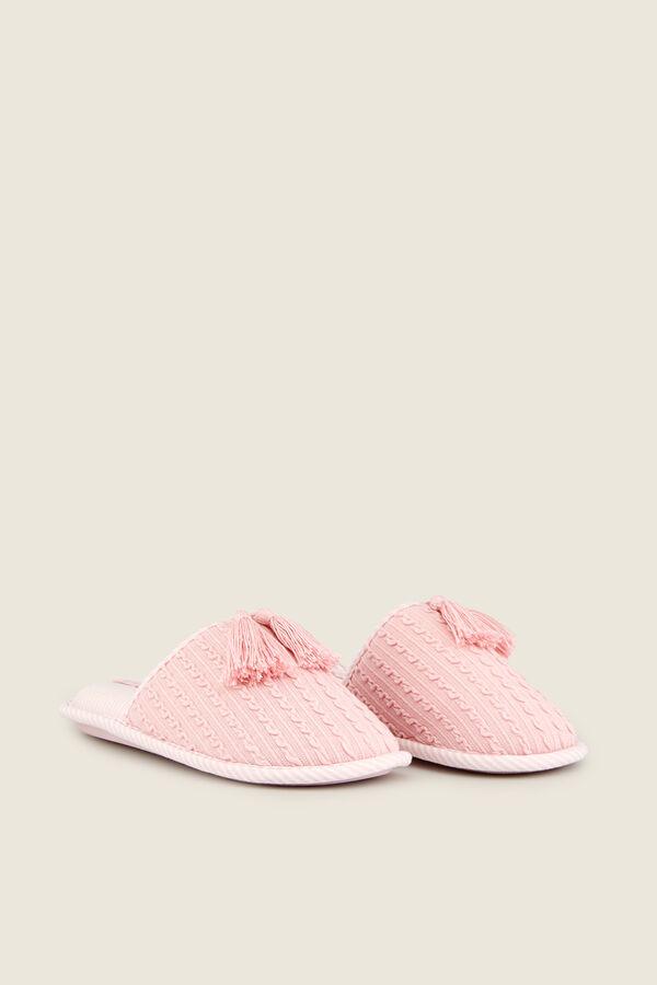 c906eb7089 Womensecret Zapatillas casa efecto punto rosa