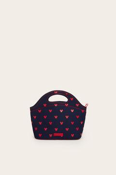 Womensecret Mickey mintás, matrózkék ételhordó táska kék