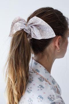 Womensecret Gold detail tie scrunchie pink