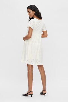 Womensecret Short maternity dress white