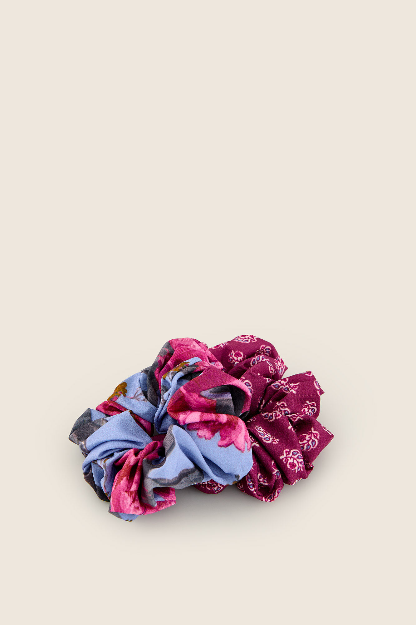 b190a41e Pack gomas de pelo estampado floral
