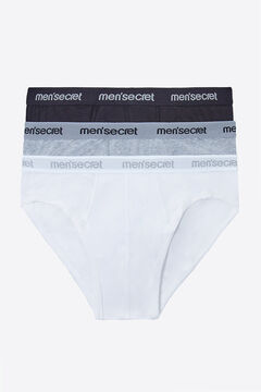 Womensecret Pack 3 slips for man printed