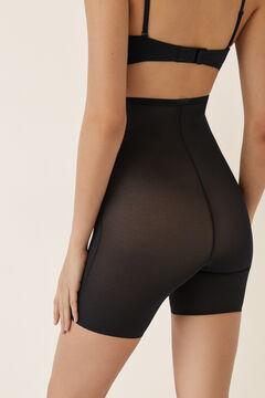 Womensecret Pantalón shape moldeador de tul negro