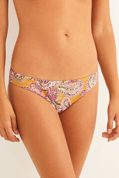 Womensecret Printed classic bikini bottoms printed