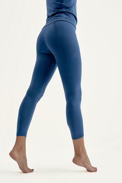Womensecret Legging Vinyasa Med Navy  azul