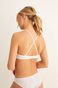 Womensecret Sujetador push up blanco
