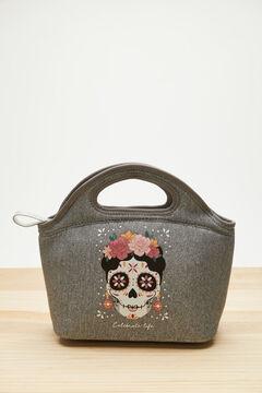 Womensecret Grey neoprene Coco lunchbag grey