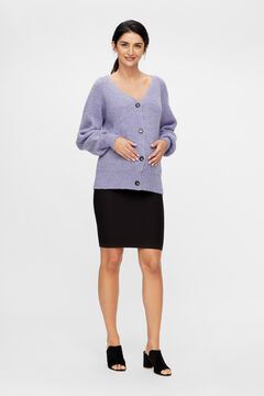 Womensecret Maternity jersey-knit cardigan blue