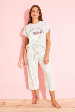 Womensecret Long grey cotton Grover pyjamas grey