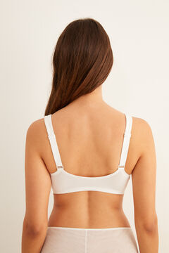 Womensecret Post-Surgery bra with fasteners beige