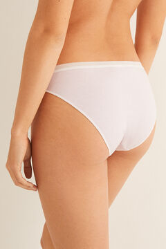 Womensecret Striped low waist panty pink